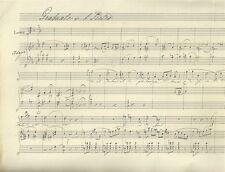 Graduale di S. Pietro Spartito Manoscritto Bagnacavallo 1890