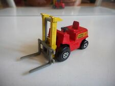 Matchbox Superfast Fork Lift Truck in Red