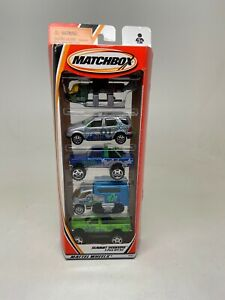 MATCHBOX-SUMMIT SEEKERS-5-PACK GIFT SET-2001-95392-NEW-