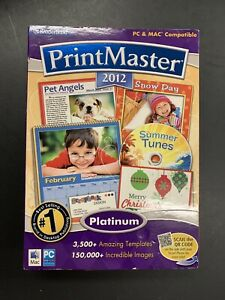 Broderbund PrintMaster 2012 for Mac