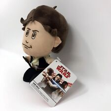 "HAN SOLO TALKING 7"" PLUSH STAR WARS THE LAST JEDI NEW W/ TAGS SE7EN20"