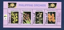 PHILIPPINES - VFMNH S/S - Orchids, Flowers Topical - 1996