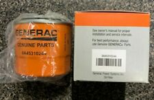 Generac 0A45310244 Oil Filter OE Orange