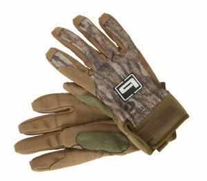 Banded Gear Soft Shell Blind Gloves Mossy Oak Bottomland Fleece Warm Glove