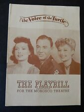 FEBRUARY 1946 - MOROSCO THEATRE PLAYBILL - THE VOICE OF THE TURTLE - SCOTT