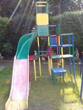 MoveandStic Mega Set Bausatz - Spielturm mit Doppelrutschen viele Aufbauvariante