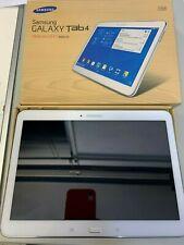 Samsung Galaxy Tab 4 SM-T535 16GB, WLAN + 4G,10,1 Zoll Entsperrt Tablet - Weiß