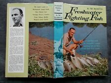 FRESHWATER FIGHTING FISH VIC McCRISTAL VINTAGE FISHING BOOK PUBLISHED 1968