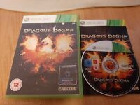 Dragons Dogma (Microsoft Xbox 360, 2012) Complete with Manual