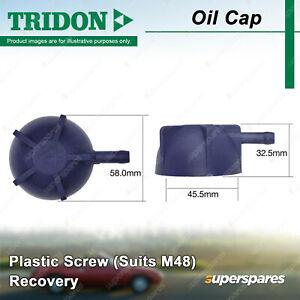 Tridon Recovery Radiator Cap Plastic Screw for Audi 5+5 80 100 200