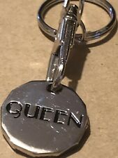 Queen Official Fanclub Only Quality Metal Keyring Official Merchandise Mint
