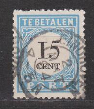 Port nr 9 TOP CANCEL EINDHOVEN NVPH Nederland Netherlands due portzegel 1881