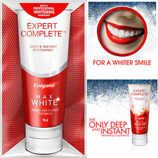 Colgate Max Toothpaste Teeth Whitening White Expert Complete Instant Cleaning