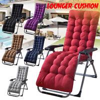 Sun Lounger Chair Pad Cushion Garden Patio Recliner Relax Rocking Chair Cushio