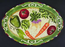 Fitz and Floyd  Le Marche Vegetable Platter-  58/276- New