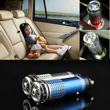 Mini Auto Car Fresh Air Ionic Purifier Oxygen Ozone Ionizer Sterilization Un