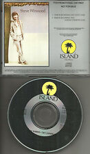 Traffic STEVE WINWOOD Time is Running Out w/ RARE EDIT PROMO Radio DJ CD single