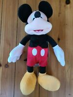 "Disney Store Authentic Mickey Mouse Red Plush Toy 17"" Doll Stuffed Animal New"
