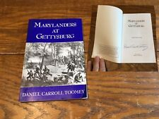 Marylanders At Gettysburg Signed Daniel Carroll Toomey Civil War Battle 1994 Vtg