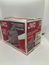 Jvc Camcorder Gr-Ax880U Silver Compact Vhsc & Accessories Vintage New In Box