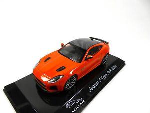 Jaguar F-Type SVR 2016 - 1:43 IXO Supercars Model Diecast Italian Edition S17