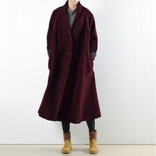 ZANZEA Women Long Sleeve Trench Coats Ladies Casual Buttons Overcoats Plus Size