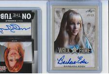 Barbara Eden Autograph Card Pop Century /25 Auto I DREAM OF JEANNIE Walk of Fame
