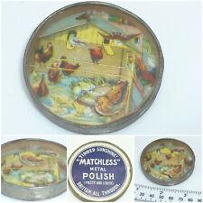 Vintage German Advertising Dexterity Puzzle Chicken Sunshine Matchless Polish