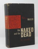 Norman Mailer - The Naked & The Dead - 1st 1st Wonderful - FIRST STATE DJ - NR