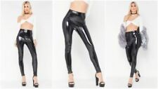 Full Length Wet Look Leggings for Women