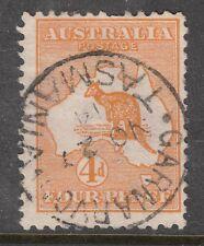 Australia Sg 6 4d Kangaroo Carnarvon Cds Tasmania now Port Arthur Vfu
