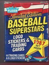 1987 Fleer Limited Edition Baseball Superstars Set (44) PETE ROSE / DALE MURPHY