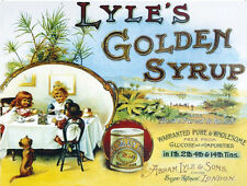 Metal Sign Wall Plaque Lyle's Golden Syrup Children Home Decor Art Gift 15X20CM