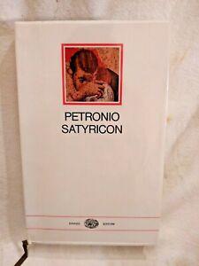 SATYRICON di Petronio 1967 Einaudi Millenni libro letteratura latina collana