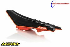ACERBIS X-SEAT SOFT BLACK ORANGE FOR KTM XC-W125 XC-W150 EXC250 EXC300 2018