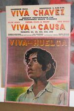 Viva Chavez, Viva La Causa, 1968 Poster