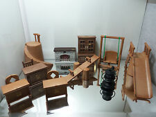 1986 Bandai Maple Town Story Furniture Lot of 14 - Play Ground/Family Rm/ & More