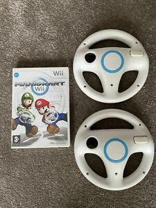 Mario Kart Wii Game and Official 2 Wheel Bundle