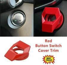 Arranque coche deje de pulsar el botón Interruptor Cubierta De Protección Decoración de ajuste de la etiqueta engomada