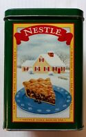"""Vintage Tin Nestle Toll House Cookies Pie Party Mix Limited Edition Green 6x4"""""""