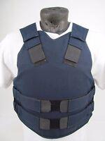 X Police TBA Gore-Tex Stab Spike Bullet Proof Kevlar Body Armor Vest MED I5/Z4