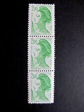 1982 bloc de 3 timbres neufs 2,00 f n° 2188 France