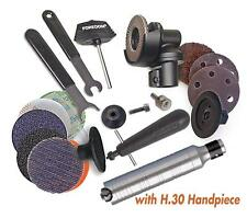"FOREDOM ANGLE GRINDER KIT AK69130 WITH #30 HANDPIECE & ACCESSORIES - 2"" WHEELS"