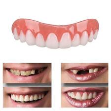 Smile Comfort Fit False Dentures Fake Teeth Top Upper Cosmetic Dental Oral CR