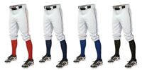 Easton Men's Baseball Pants Pro Plus Piped Knicker w/ Piping Short Style A167105