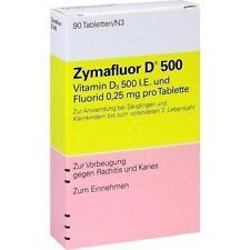 ZYMAFLUOR D 500 Tabletten 90 St PZN 3665071