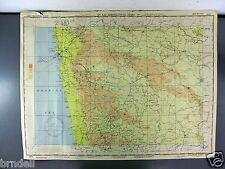 US ARMY AIR FORCE MAP AERONAUTICAL CHART WW2 1944 MALABAR POINT BOMBAY INDIA 673