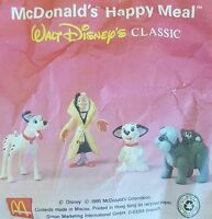 McDonalds Happy Meal Toy 1995 101 Dalmations Characters Inc Cruella Toys Various