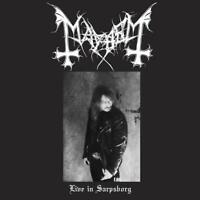 MAYHEM - LIVE IN SARPSBORG   CD+DVD NEU