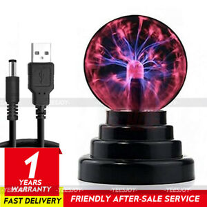 Electric Magic Plasma Static Ball Touch Sensitive Decor Lava Lamp Party Light